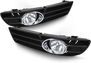 ACANII - For 1999-2004 VW Jetta Bora Mk4 Front Bumper Fog Lights Lamp+Switch+Bulbs Assembly Driver & Passenger Side