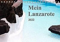 Mein Lanzarote (Tischkalender 2022 DIN A5 quer): Monatskalender mit 13 inseltypischen Eindruecken (Monatskalender, 14 Seiten )