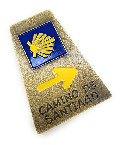 MovilCom® - iman Nevera  Figuras magneticas   imanes Nevera Personalizados de Camino de Santiago   diseño Exclusivo Recuerdo de España (Mod.002)