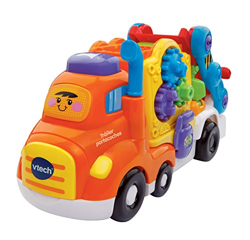 VTech-80-189522 Camion transporta Coches, Color (3480-189522)