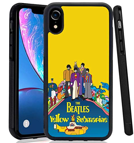 The Beatles iPhone XR Case Handmade Design Protective Cover Rubber TPU case Shockproof Defender Skin The Beatles Yellow Submarine for (iPhone Xr/iPhone XR)