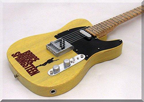 BRUCE SPRINGSTEEN Miniatura Guitarra Fender Telecaster 2