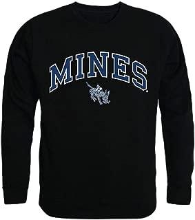 Colorado School of Mines Campus Crewneck Pullover Sweatshirt Sweater Black