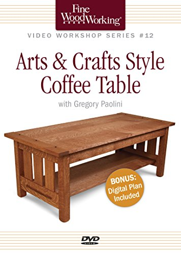 Fine Woodworking Video Workshop Series - Arts & Crafts Coffee Table