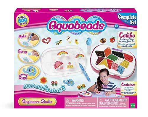 Aquabeads Perles Multi-Facettes, 79108, Multicolore
