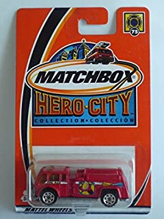 MATCHBOX - 2002 Hero City Collection #75 - Water Pumper by Matchbox