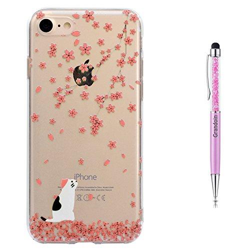 Grandoin iPhone 8 Hülle,iPhone 7 HandyHülle, Süßes Muster Weiche TPU Silikon Schutz Handy Handytasche Etui Schale Schutzhülle für Apple iPhone 8/iPhone 7 4.7