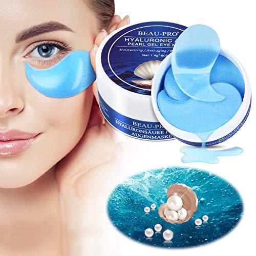 Eye Mask, Augenpads Anti Aging Pads hyaluron Collagen Maske-eye pads Kollagen Augenpads Gel...