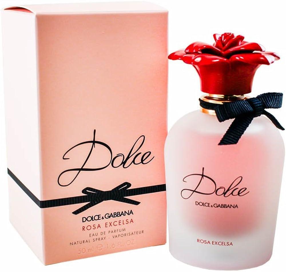 Dolce&gabbana dolce rose excelsa eau de parfum spray, donna, 50 ml 10002627