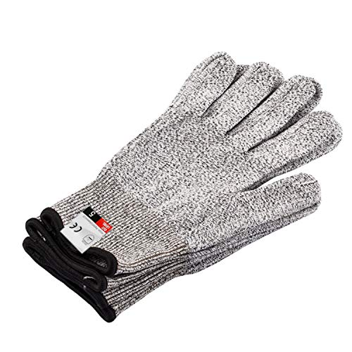 Cicongzai snijwerende handschoenen - High Fashion Design Performance Level 5 bescherming, voedselkwaliteit