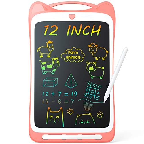 Jasonwell Kids Drawing Pad Doodle Board 12' Colorful Toddler Scribbler...