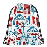 Lsjuee bolsa de mochila con cordón, bolsa de gimnasio, para niñas o hombres,...