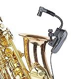 Baomic ワイヤレス マイク 楽器用 サックス クラリネット トランペット用 BM-12