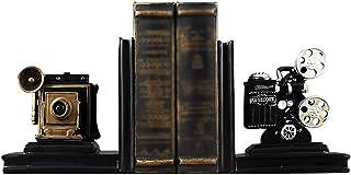 نهايات الدفاتر المزخرفة من الراتينج القديم من الراتينج النحت كتاب النهاية للاحتفاظ بالكتب ينتهي الكتاب لديكور المنزل والمكتب