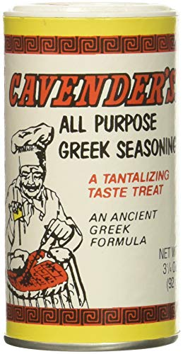 Cavender All Purpose Greek Seasoning 3.25 OZ (Pack of 2)