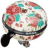 Basil Fahrradklingel Big Bell Bloom, Gardenia White, 80 mm