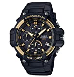 CASIO COLLECTION Herren Analog Quarz Uhr mit Harz Armband MCW-110H-9AVEF