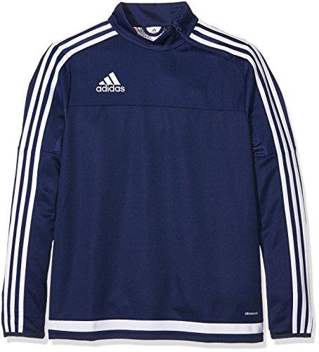 adidas Kinder Sweatshirt Tiro15 Training t y, Dark Blue/White, 116