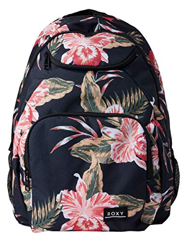 Roxy Women's Shadow Swell Backpack, Anthracite Castaway Floral, One Size