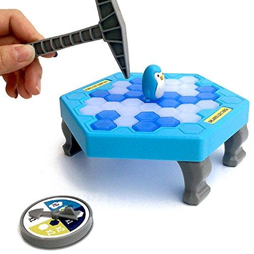 Highdas Pingüino cubos de hielo mini juego de mesa para niños ...
