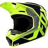 Fox Racing Prix Youth V1 Off-Road Motorcycle Helmet - Black/Yellow/Medium