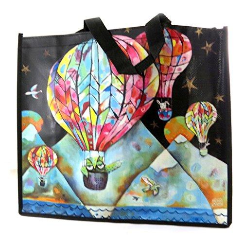 Diseño de la bolsa 'Allen Designs'balloon festival (46x40x19 cm).