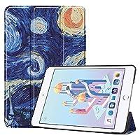 WONGYAN ファッション スリムパーソナライズフクロウ蝶フラワーデザイン軽量耐衝撃スマートタブレット磁気ケースiPad mini 5(2019)/ iPad Mini 4(2015)、自動スリープ付き/ウェイクホルダー (PATTERN : 3)