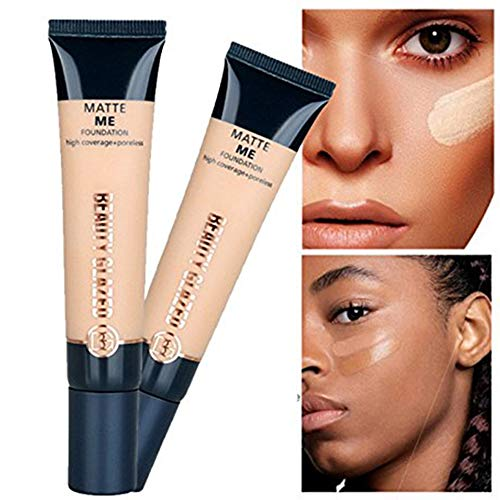 Beauty Glazed Primer Pore Covering Foundation Pore Minimizing Face Makeup for Oily Skin Concealer Primer Make Up Base Primer Creamy and Soft (04#)