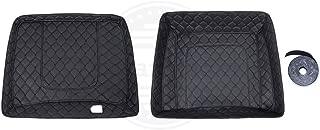 Moto Onfire Us Stock Black Stitching Razor Tour Pack Liner Fit for Advanblack Tour Pak Aftermarket Razor Tour Pack