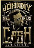 panggedeshoop Country-Musik-Sänger Johnny Cash Poster