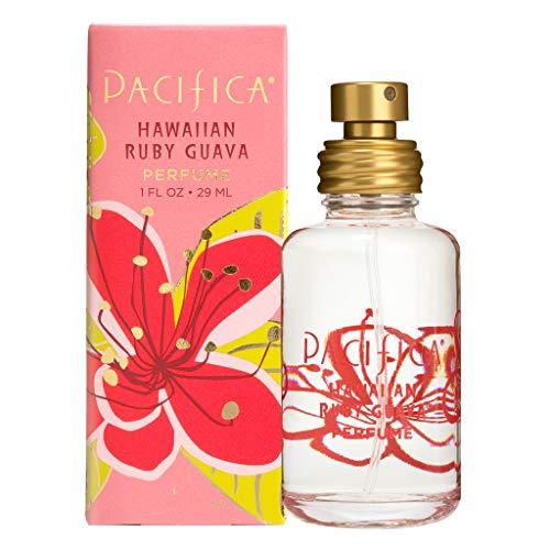 Pacifica Beauty Hawaiian Ruby Guayaba Spray Clean Fragancia Perfume, fabricado con aceites naturales y esenciales, 1 fl oz   Vegano + crueldad   Libre de ftalatos y parabenos