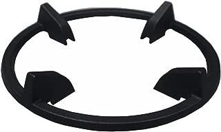 MikeGarden Matte Enamel Cast Iron Wok Ring For Samsung Gas Range NX58K3310, NX58F5500, NX58H5600, NX58J7750, NX58K7850, NX58H9500, NY58J9850, NX58H9950 Series, Frigidaire FPGF3077QF, FPGH3077RF
