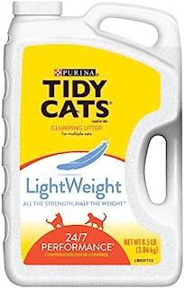 Tidy Cats Cat Litter, Clumping, 24/7 Performance, LightWeight, 136 Ounce Jug