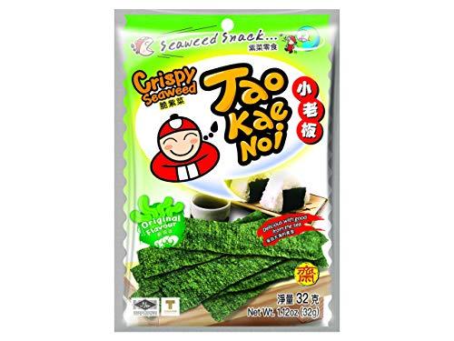 Taokaenoi Brand Snack Crispy - Pacco da 6 x 32 g