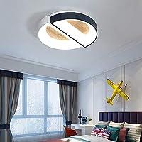 ライト 現代のベッドルーム暖かいロマンチックな丸みを帯びた個性創造的なリビングルームの天井ランプ セルリング (Color : B, Size : D45CM)