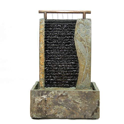 Seliger Schieferbrunnen Guo, 41 x 25,5 x 15 cm