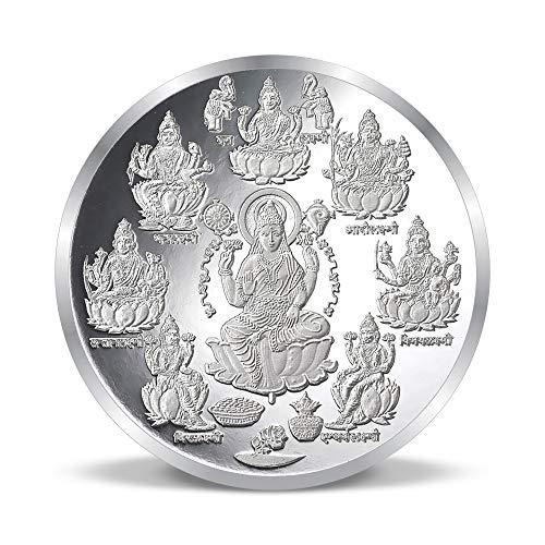 ACPL Precious Moments Ashta Laxmi Silver Coin 999 Pure