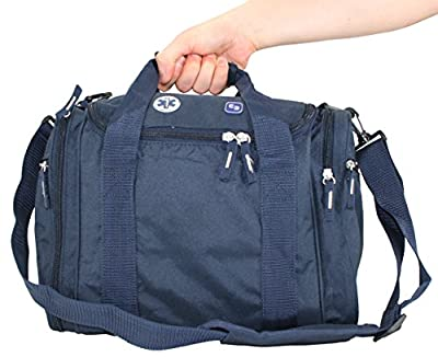 ELITE BAGS Small Blue Nurse Bag With Multiple Pockets Unkitted - 37 x 25 x 20 cm by Elite Bags