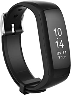 Aipker Waterproof Fitness Tracker with Real-Time Heart Rate Monitor Smart Bracelet