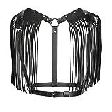 YiZYiF Body Chest Harness da Donna Cintura per Imbracatura in Pelle Erotico Decorato con N...