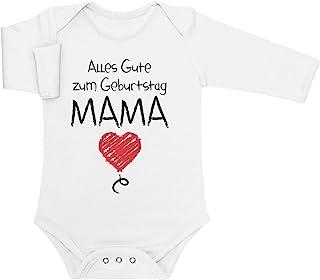 Shirtgeil Alles Gute Zum Geburtstag Mama - Mutter Geschenk Baby Langarm Body