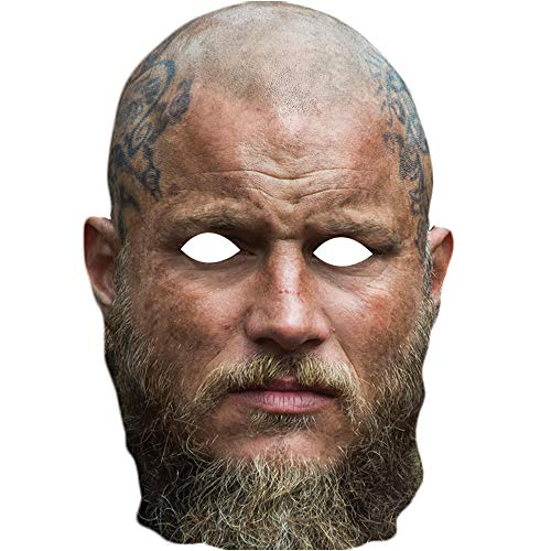 Ragnar Lothbrok Travis Fimmel Vikings - Máscara Facial