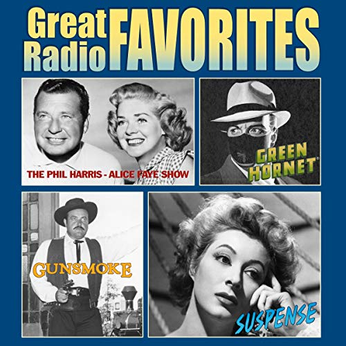 Great Radio Favorites audiobook cover art
