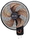 iBELL BLADEWF18 High Speed Wall Fan with Copper Motor, 5 Metal Leaf, 18' Longer Leaf, Low Noise Motor   Black with Copper