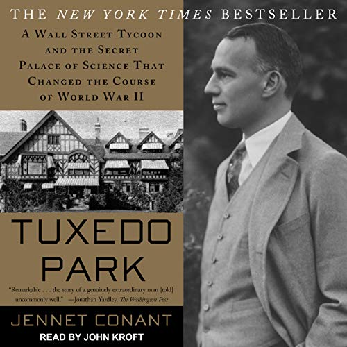 Tuxedo Park audiobook cover art