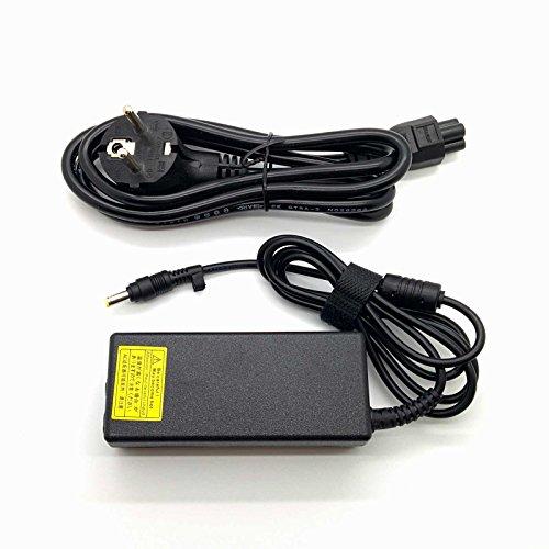65w AC Adapter Adaptador Cargador Compatible para Equipos HP - Compaq Presario C700 18,5v 3,5a 4.8mm * 1.7mm // Protección contra Cortocircuitos, sobre-Corriente y sobrecalentamiento
