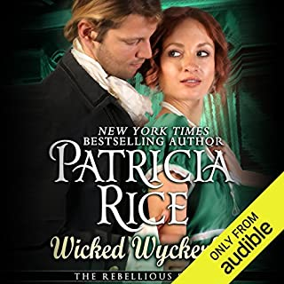 The Wicked Wyckerly audiobook cover art