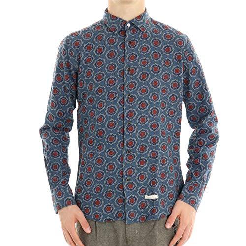 ALESSANDRO LAMURA - Camisa Sangria para Hombre