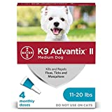 K9 Advantix II Teal 1ml 11-20lb 4pk