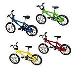 Uchic 5pcs doigt en alliage de vélo Modèle Mini BMX VTT fixie Vélo garçon jouet...